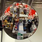 Interior Convex Mirrors