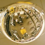 Ceiling Dome Mirror